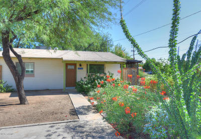 Tucson, Oro Valley, Marana, Sahuarita, Vail Single Family Home For Sale: 5908 E Lee Street