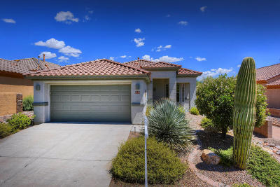 Marana Single Family Home Active Contingent: 5194 W Desert Song Place