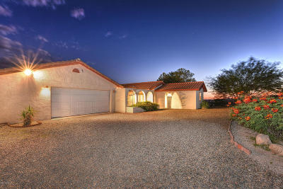 Tucson Single Family Home For Sale: 15775 N Equestrian Trail