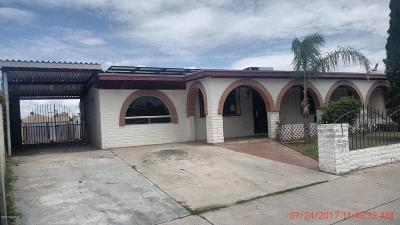 Single Family Home For Sale: 1523 E Calle Salamanca