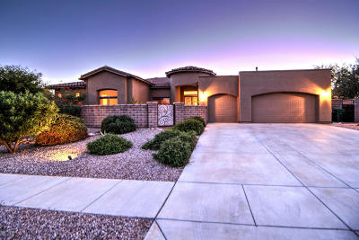 Oro Valley Single Family Home Active Contingent: 12597 N Red Eagle Drive