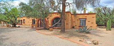 Tucson Single Family Home For Sale: 6211 Paseo Tierra Alta