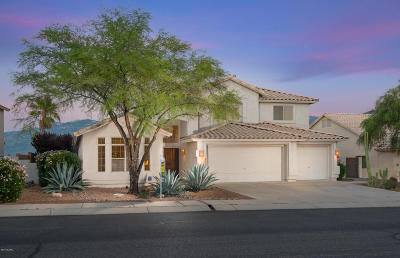 Oro Valley Single Family Home Active Contingent: 12404 N Mount Bigelow Road