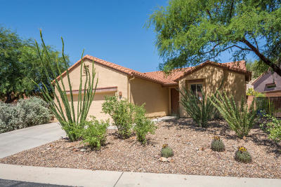 Oro Valley Single Family Home Active Contingent: 1577 E Charouleau Place