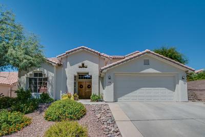 Tucson Single Family Home Active Contingent: 6895 N Avenida Adella