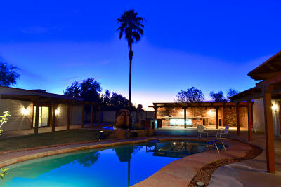 Tucson Single Family Home Active Contingent: 4111 N Sanders Road