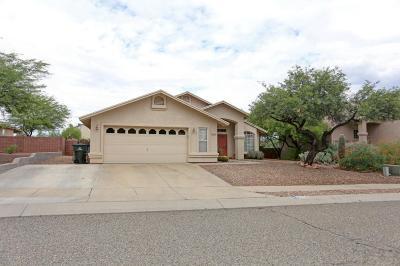 Tucson Single Family Home Active Contingent: 2690 W Calle Cuero De Vaca