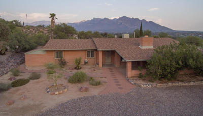 Oro Valley Single Family Home Active Contingent: 10220 N Rancho Sonora Drive