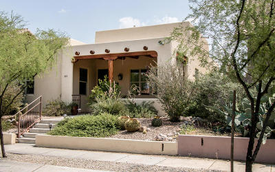 Tucson Single Family Home Active Contingent: 10372 E Sixto Molina Lane