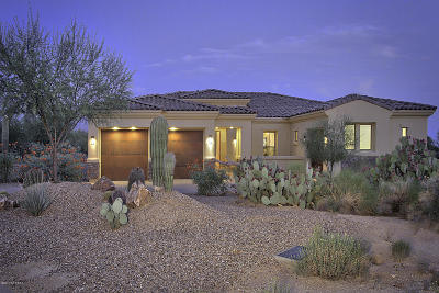 Pima County Single Family Home Active Contingent: 11856 N Mesquite Sunset Place