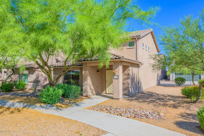 Tucson Single Family Home Active Contingent: 10656 E Singing Canyon Drive