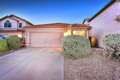 Single Family Home Active Contingent: 7733 E Entrada De Ventana