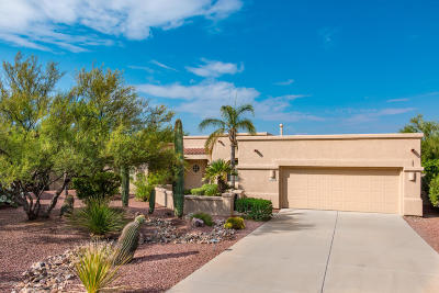 Oro Valley Single Family Home Active Contingent: 11657 N Verch Way