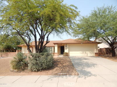 Tucson Single Family Home For Sale: 4720 W Hardy Road