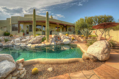 Tucson Single Family Home Active Contingent: 12320 E Barry Baker Place