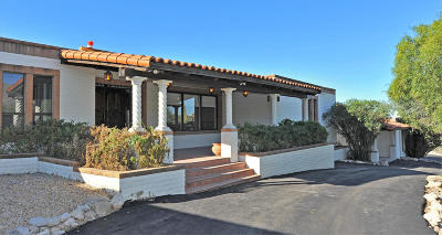 Tucson Single Family Home For Sale: 2940 E Camino Juan Paisano