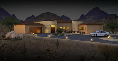 Tucson Single Family Home For Sale: 7562 N Westward Look Drive #C
