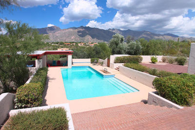 Tucson Single Family Home For Sale: 5220 N Salida Del Sol Drive