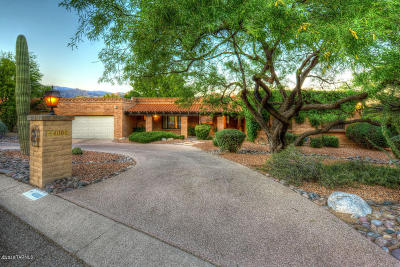 Tucson Single Family Home For Sale: 4000 N Ridgecrest Drive