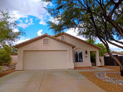 Marana Single Family Home For Sale: 5430 W Whiptail Court