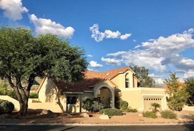 Tucson Single Family Home Active Contingent: 6373 E Calle De Mirar