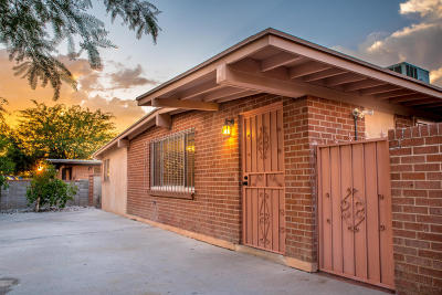 Pima County Single Family Home Active Contingent: 25 E Elvado Road