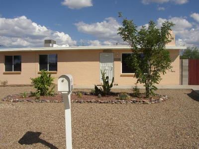 Tucson Single Family Home For Sale: 5838 E 36th Street