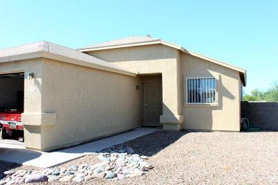 Pima County Single Family Home Active Contingent: 3780 E Talkalai Lake Place