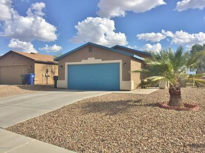 Tucson, Oro Valley, Marana, Sahuarita, Vail Single Family Home For Sale: 7320 E Poinciana Place