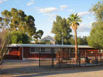 Tucson, Oro Valley, Marana, Sahuarita, Vail Single Family Home For Sale: 1458 W Roller Coaster Road