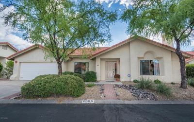 Tucson Single Family Home For Sale: 7686 E Dayview Circle