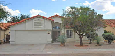 Tucson Single Family Home For Sale: 2631 W Camino De La Joya
