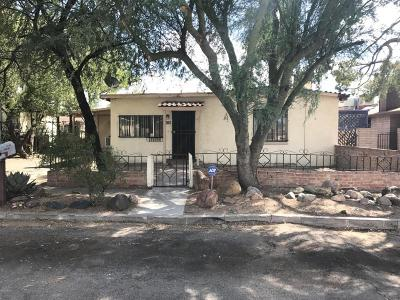 Tucson Single Family Home For Sale: 219 W Dahil Road