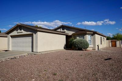 Pima County Single Family Home For Sale: 5355 S Via Baltra