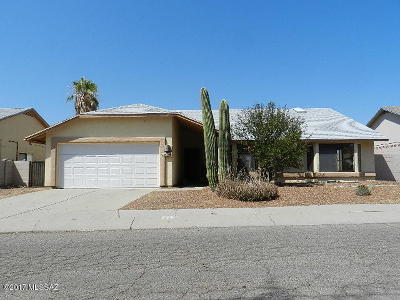 Tucson Single Family Home For Sale: 8585 N Star Grass Drive
