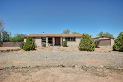 Marana Single Family Home For Sale: 16820 W Falcon Lane