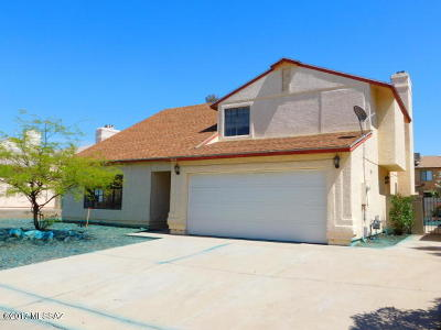 Pima County Single Family Home For Sale: 5055 W Bluejay Street
