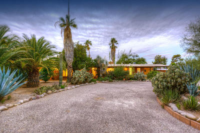 Tucson Single Family Home Active Contingent: 1115 W San Martin Drive