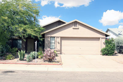 Tucson Single Family Home For Sale: 2820 W Redmond Drive