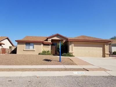 Tucson Single Family Home For Sale: 8166 E Mesquite Ridge Circle