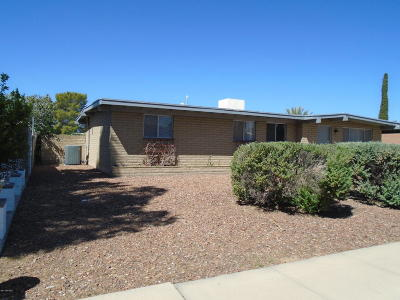 Tucson Single Family Home Active Contingent: 4412 S White Pine Drive