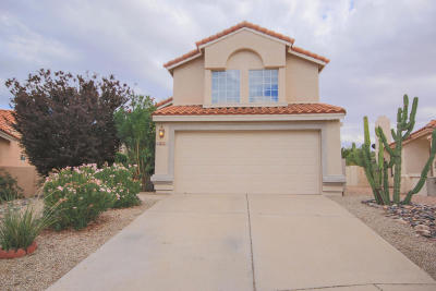 Tucson Single Family Home For Sale: 8184 E Prickly Poppy Drive