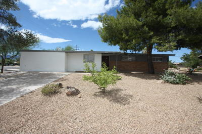 Tucson Single Family Home For Sale: 3226 W Orange Grove Road