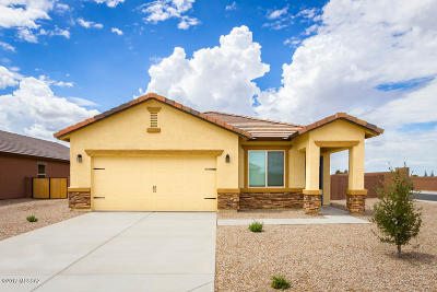 Marana Single Family Home For Sale: 12872 N White Fence Way