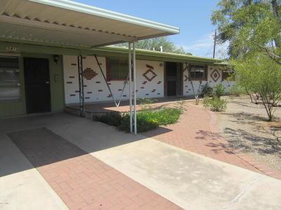 Tucson Single Family Home For Sale: 3415 E Waverly Street