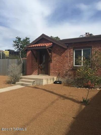 Tucson Single Family Home For Sale: 1324 N Vine Avenue