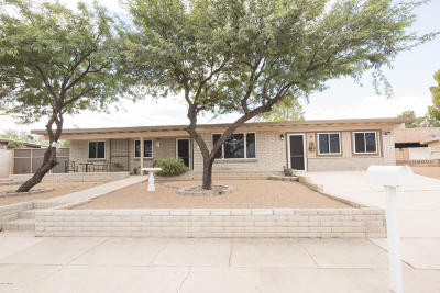 Tucson Single Family Home For Sale: 4222 S Queen Palm Drive