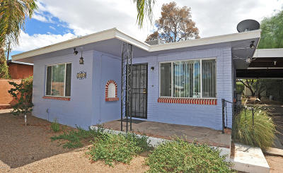 Tucson Single Family Home For Sale: 2562 E Water Street