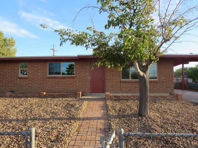 Tucson Single Family Home Active Contingent: 4008 E Frankfort Stravenue