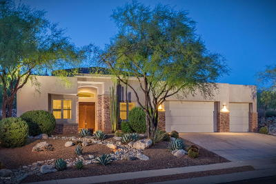 Tucson Single Family Home For Sale: 7461 E Ridge Point Road